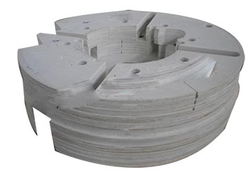常州创世复合材料轮胎硫化机隔热板FH-2