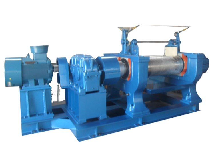 青岛嘉瑞橡胶机械400精炼机