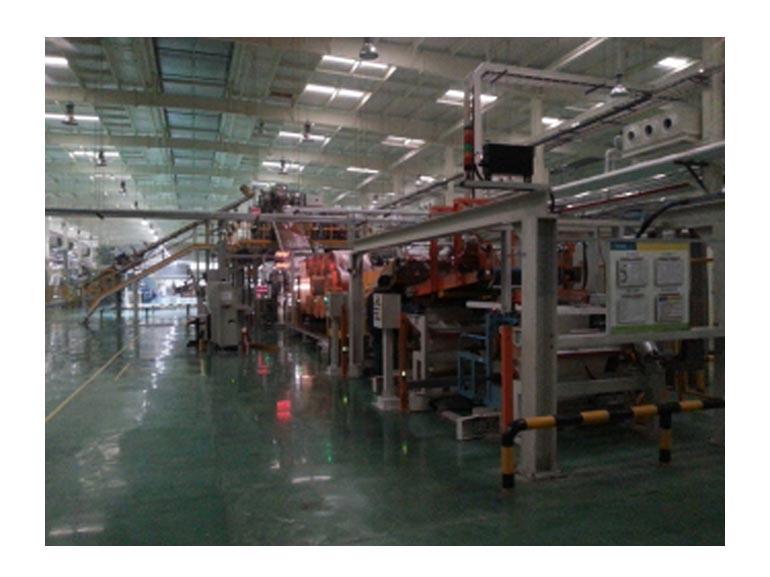 江苏荣晟机电科技内衬层挤出联动生产线