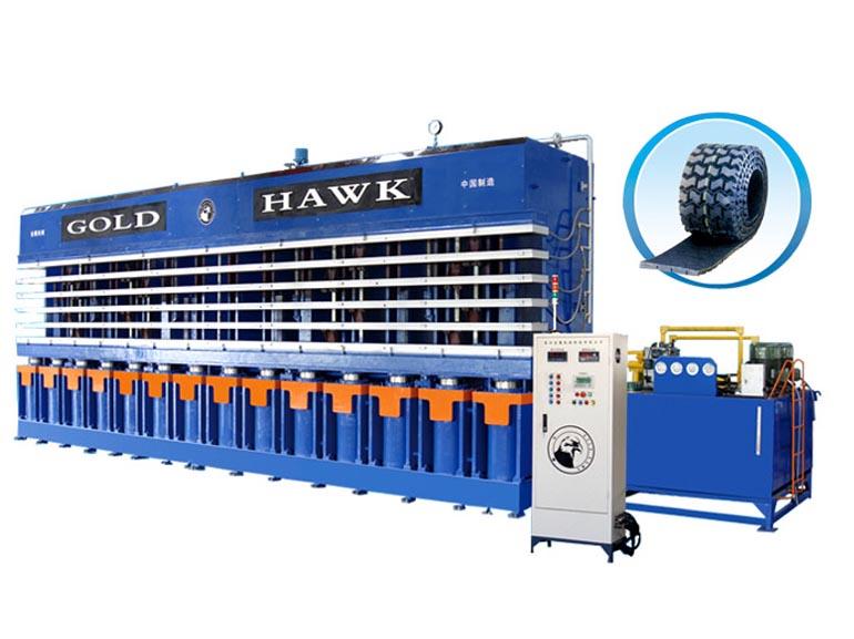 泉州金鹰机械GHT-2600T 腭式胎面橡胶机