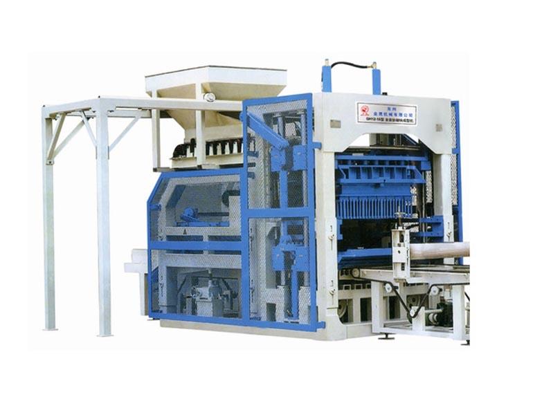 泉州金鹰机械GHTY12-15全自动砌块成型机