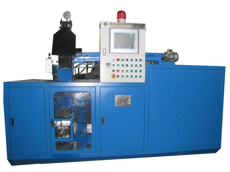青岛科高橡塑机械智能实验密炼机