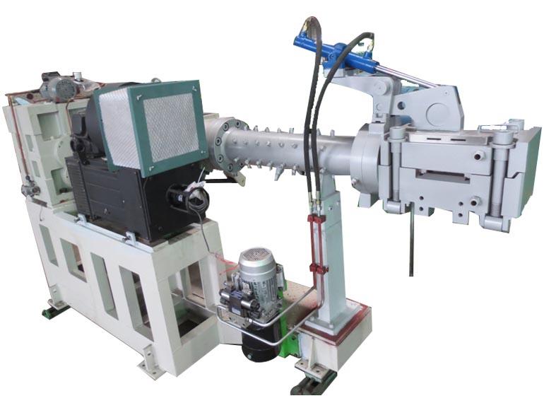 桂林合众国际橡塑机械0度带束层挤出生产线