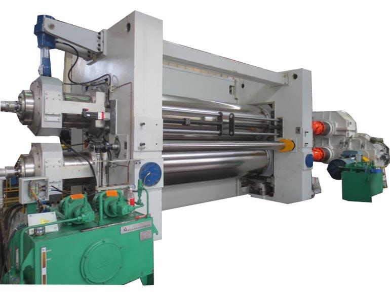 桂林合众国际橡塑机械宽幅胶片挤出生产线