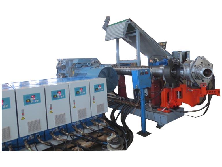 桂林合众国际橡塑机械橡胶胶管、电缆连续挤出生产