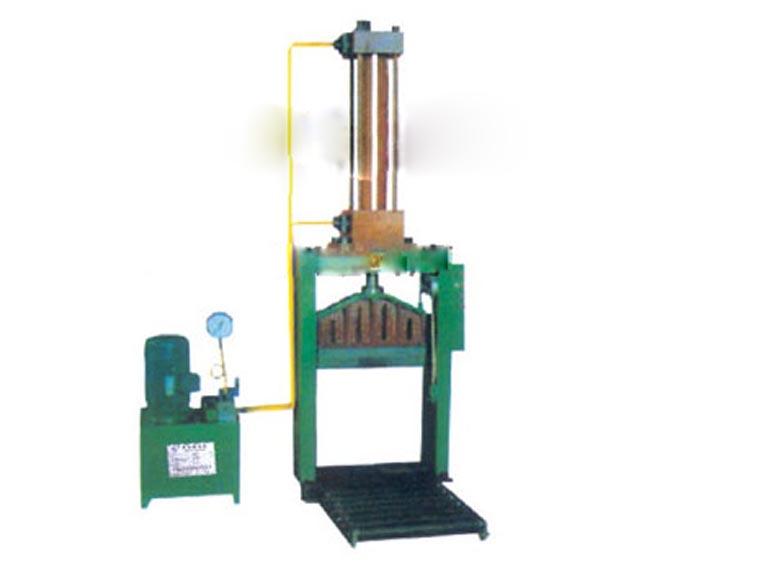 青岛嘉瑞橡胶机械单刀液压切胶机
