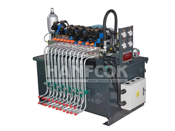 挤出机液压系统挤出机液压站