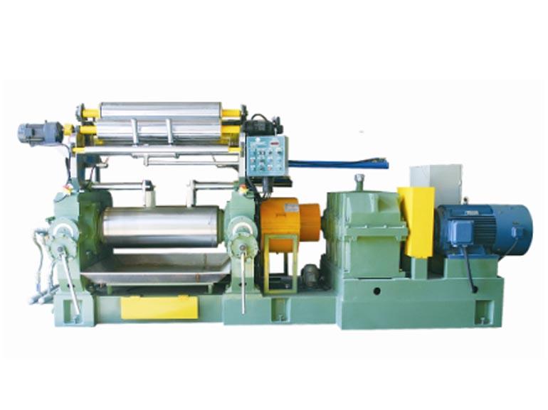 晋江山水橡塑机械开放式练胶机