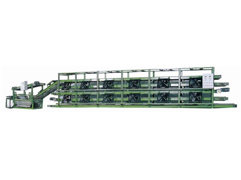 晋江山水橡塑机械平板网式冷却机