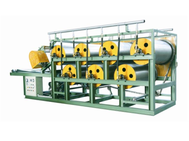 晋江山水橡塑机械冷水式七轮双层出片机
