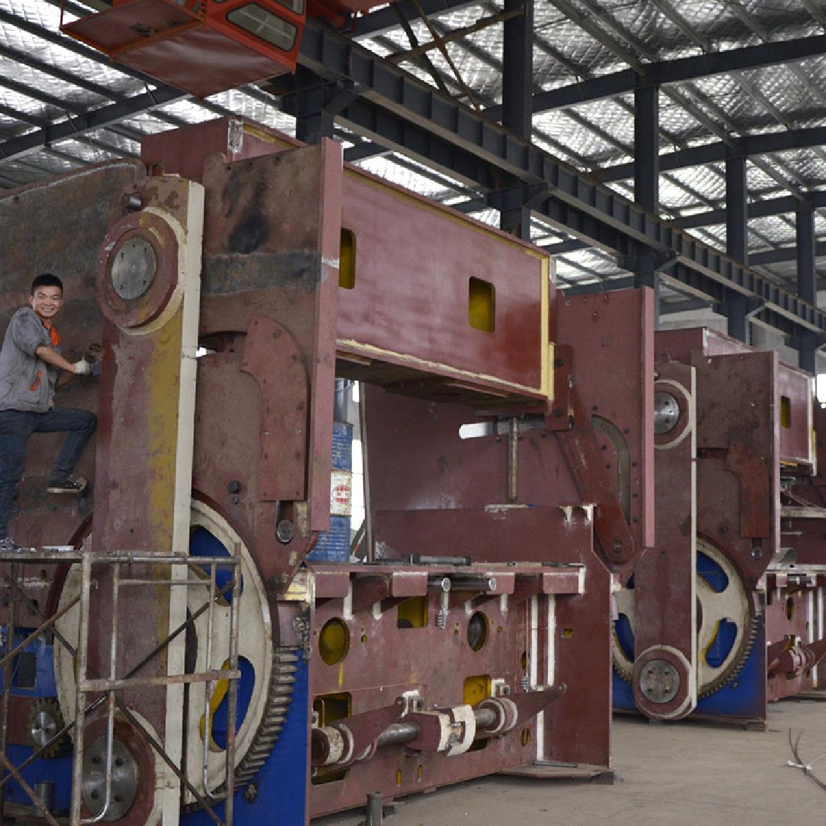 机械式双模硫化机