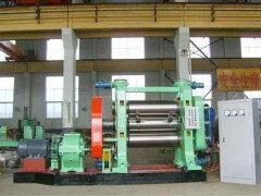 硅橡胶压延机在工业生产中的应用