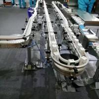 85mm挡板爬破柔性链板输送机
