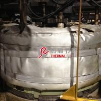 新安江硫化机热工集成阀组隔热套
