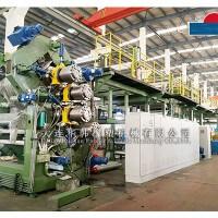 华韩橡塑机械钢丝帘布压延生产线