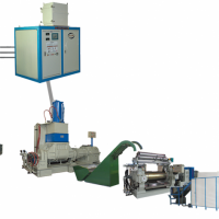 正将自动化翻斗式密炼机炼胶生产线