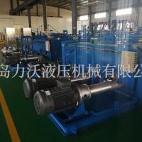 力沃液压平板硫化机液压系统