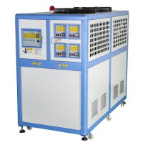 多组温控冷热水机奥启冷水机控温精准高效
